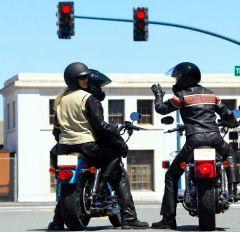 В Москве появились светофоры для мотоциклов